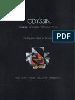 Odyssia 2016 Program en