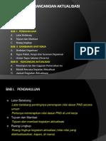 Sistematika Rancangan Aktualisasi