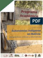 Programa Autonomías Indígenas