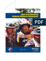 Que es la Autonomía Indígena Campesina 4