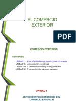 1.- Antecedentes Del Comercio Exterior
