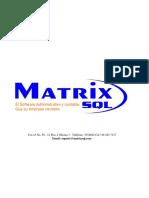 MatrixSQL Propuesta Modelo