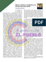 El Problema No Es Maduro, Ni Chávez