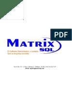 MatrixSQL_Propuesta_Facturacion_Electrónica.doc