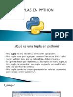 Tuplas en Python Exposicion 2