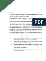 Juzgado de Primera Instancia de Trabajo y Previsión Social Del Departamento de Suchitepéquez