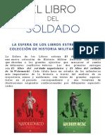 El libro del soldado Napoleonico