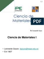 Intro CC de Materiales.