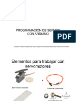 PROGRAMACIÓN DE Servos