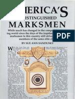 America's Distinguished Marksmen - Sandusky