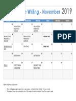 cw term one calendar 2019