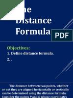 21...Distance Formula
