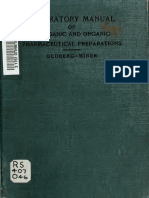 Laboratory Manual of Inorganic and Organic Pharmaceutical Preparations, 1911