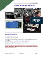 Landrover Range Rover Lcm Diag