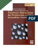 nfpa 25 español 2008