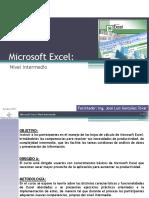 Excel Intermedio