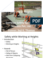 Safety While Working at Heights