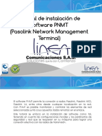 Instalacion de Software Pnmt
