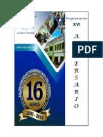 Programación Semana Aniversario XVI (1)
