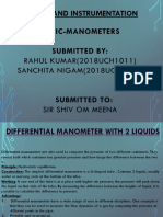 Ppt on manometer