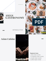 Asian Gastronomy - Intro