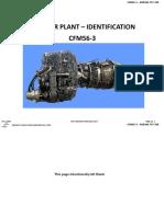 11 - Power Plant - Identification Cfm56-3