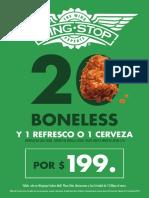 20 Boneless Chiapas 85x120