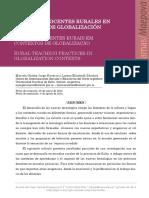 Practicas Docentes Rurales en Contextos de Globalizacion