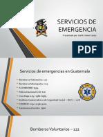 Servicios de Emergencia