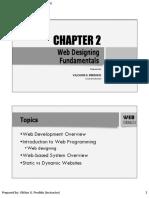 Chapter 2 - Web Desining Fundamentals