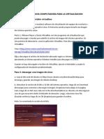Instalando Ubuntu en Maquina Virtual