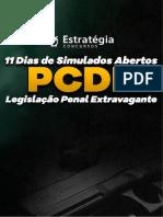 Simulado Legislação Extravagante PCDF - Estratégia Concursos