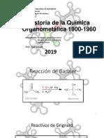 Historia de La Organometalica 20192