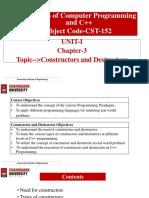 4.Constructors and Destructors
