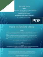 Ramirez Rodrigo Fuentes de Financiamiento Externo