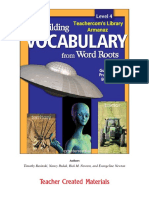 Building Vocabulary From Word Roots Level 4