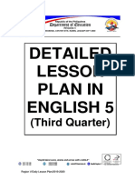 GRADE 5-3rd Quarter DLP in English Final