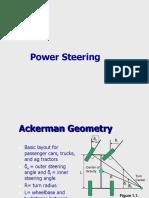 Ackermann Power Steering