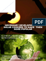 Ppt on Developments on Solar Cookers 160213040826 Converted