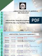 1- Introduccion a La Teoria de La Arq. - 2019