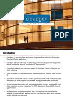 Cloudgen Introduction