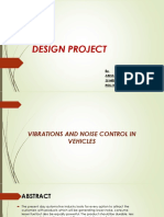 Vibration and Noise Controll in Vehicles