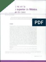 El Uso de Las TIC en La Educacion Superior en MExico