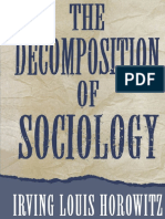 Irving Louis Horowitz - The Decomposition of Sociology-Oxford University Press, USA (1994).pdf