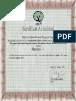 Akreditasi Prodi S1