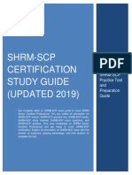 PDF SHRM-SCP Certification Study Guide