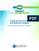 Corporate Governance Business Integrity
