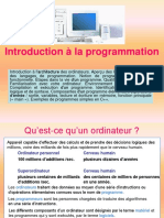 Introduction a La Programmation