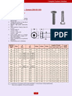 Torque Details-hex Bolt DIN 933