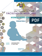 Informe Hc Pediatría Otitis Media Aguda